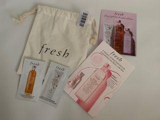 #sambutramadan Fresh Sample Kit Cleanse Toner Serum