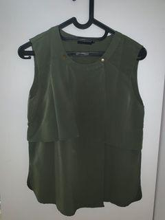 The executive army blouse