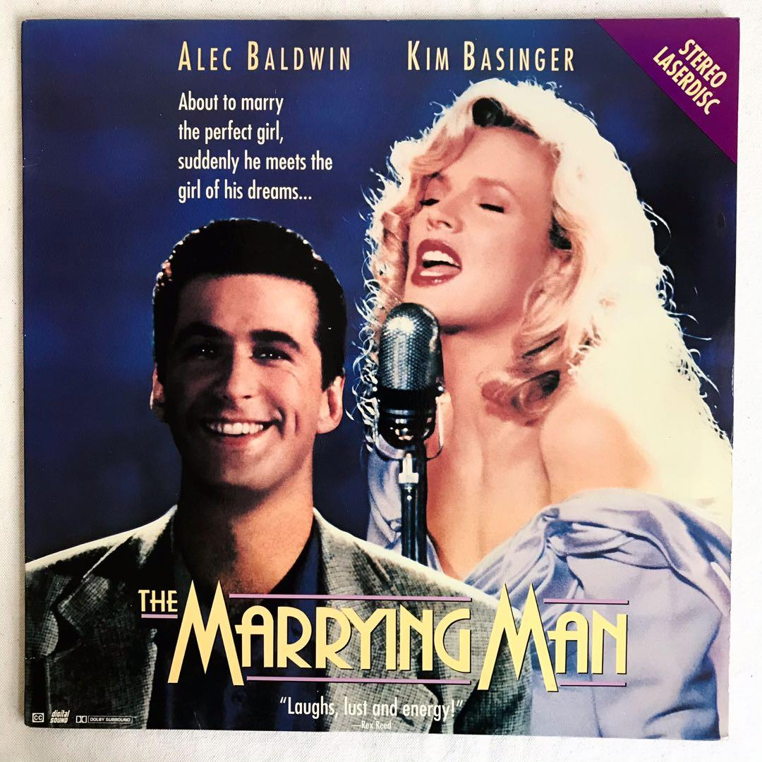 The Marrying Man抱得美人歸 Alec Baldwin/Kim Basinger(雷射影碟LD)