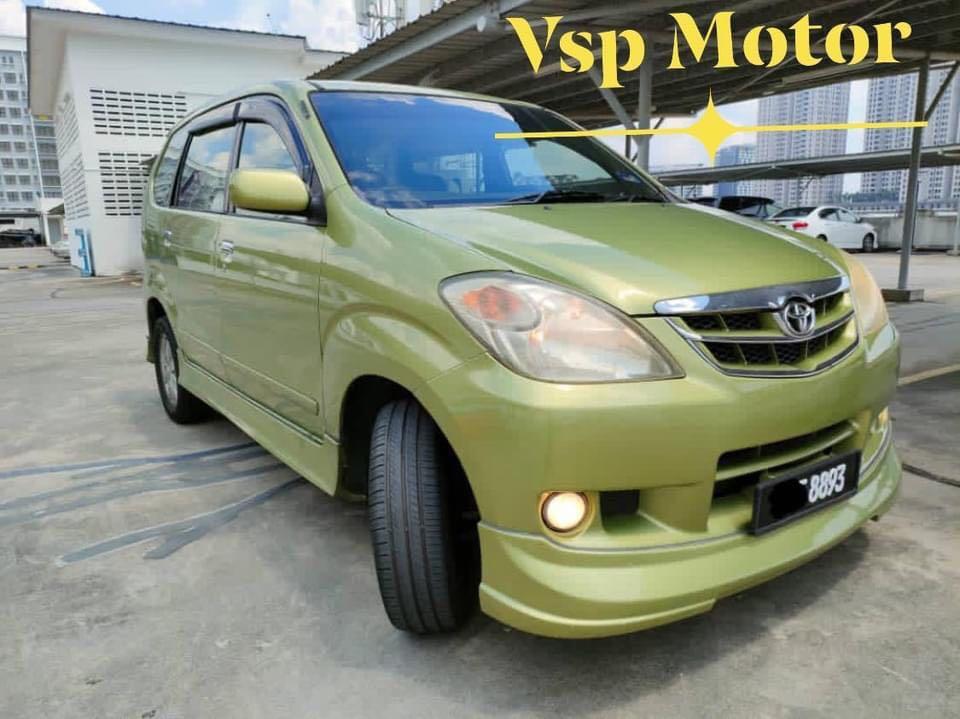 Toyota Avanza 1.5G auto~ Green
