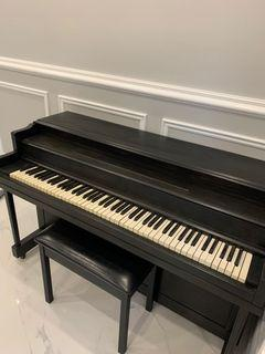 VINTAGE REFINISHED ACOUSTIC PIANO