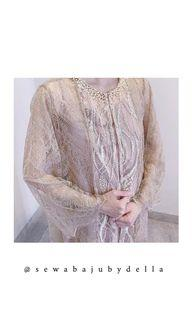 127. Kina atelier outer dress for rent