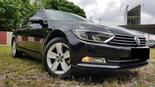 2017 Volkswagen Passat 1.8 TSI Comfortline Sedan full service record