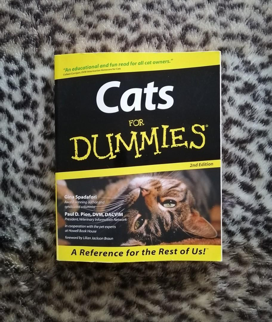 Cats For Dummies Book