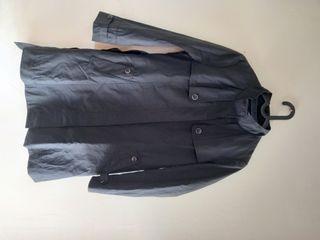 Coat Crocodile Warna hitam