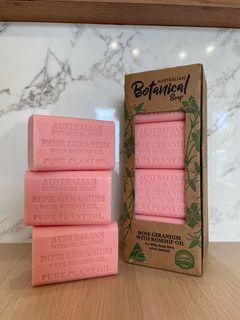 💓現貨💓Costco熱銷✨澳洲精油植物皂|玫瑰天竺葵(單顆入)