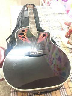 """Deviser 41"""" Fiber Tong Acoustic Guitar Model : L-4160-EQ Fiber Body 4 band Active Pickup"""