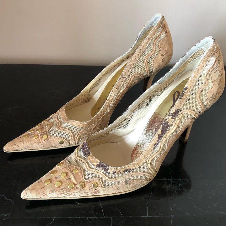 D&G Cork Heels
