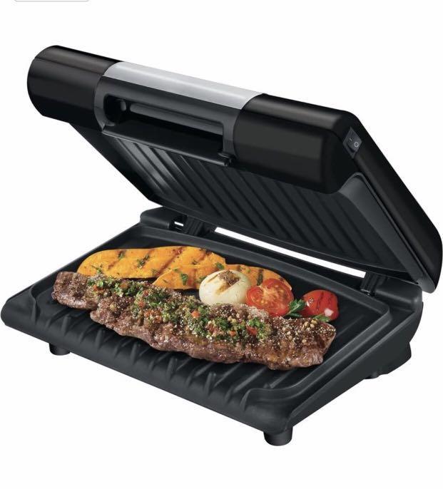 EUC George Foreman GLP80VB Temp to taste grill