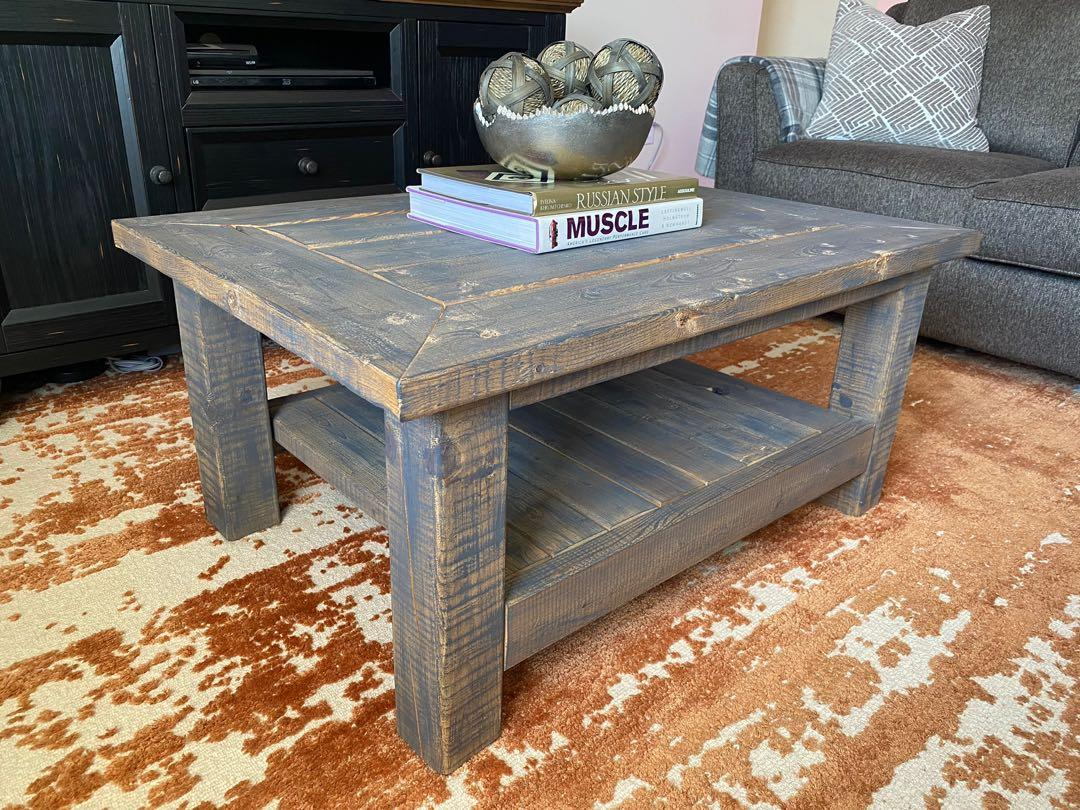 *Free Delivery* Solid Wood Coffee table and Side Table