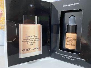 Giorgio Armani  Maestro Glow makeup 3ml