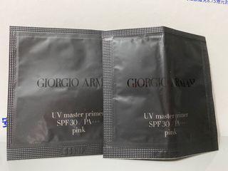 Giorgio Armani UV master primer pink 1ml 兩包