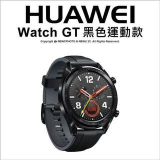 HUAWEI WATCH GT運動版 黑色 華為手錶 運動智能手錶