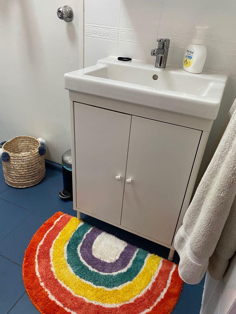 Ikea Bathroom Vanity Cabinet Furniture Home Living Bathroom Kitchen Fixtures On Carousell