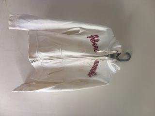 Jacket Ambercombie & Fitch Warna Putih Gading
