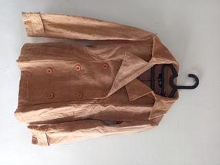 Jacket Corduroy Warna Light Chocolate