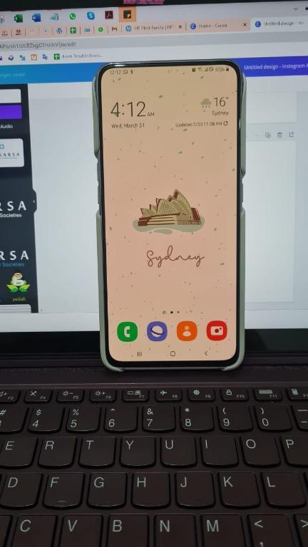 [Jual] Samsung A80 Secondhand Pemakaian 1 Tahun