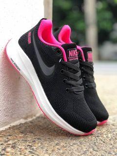 Kasut Nike black Pink Free postage