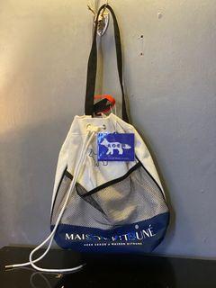 Maison Kitsune x ADER error drawstring backpack