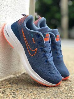 Nike Blue Orange Kualiti free postage