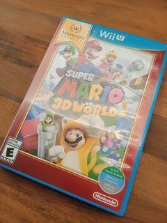 Nintendo Wii U Super Mario 3D World Video Game (READ DESCRIPTION PLEASE)