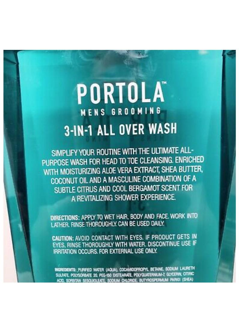 Portola | 3-in-1 All Over Wash – Luxurious wash