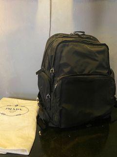 PRADA Black Backpack