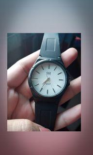 Q&Q water resist 10 bar jam tangan pria wanita ORIGINAL