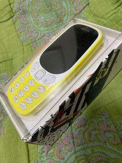 Rare Original Nokia 3310 yellow
