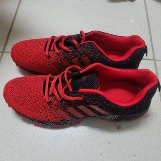 全新慢跑潮鞋(紅)