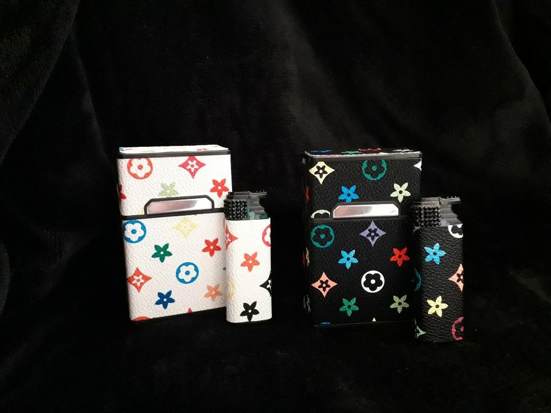 新款皮革造型菸盒套組