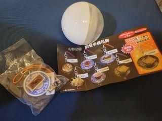 藏壽司 造型扭蛋 手機鏈 提拉米蘇