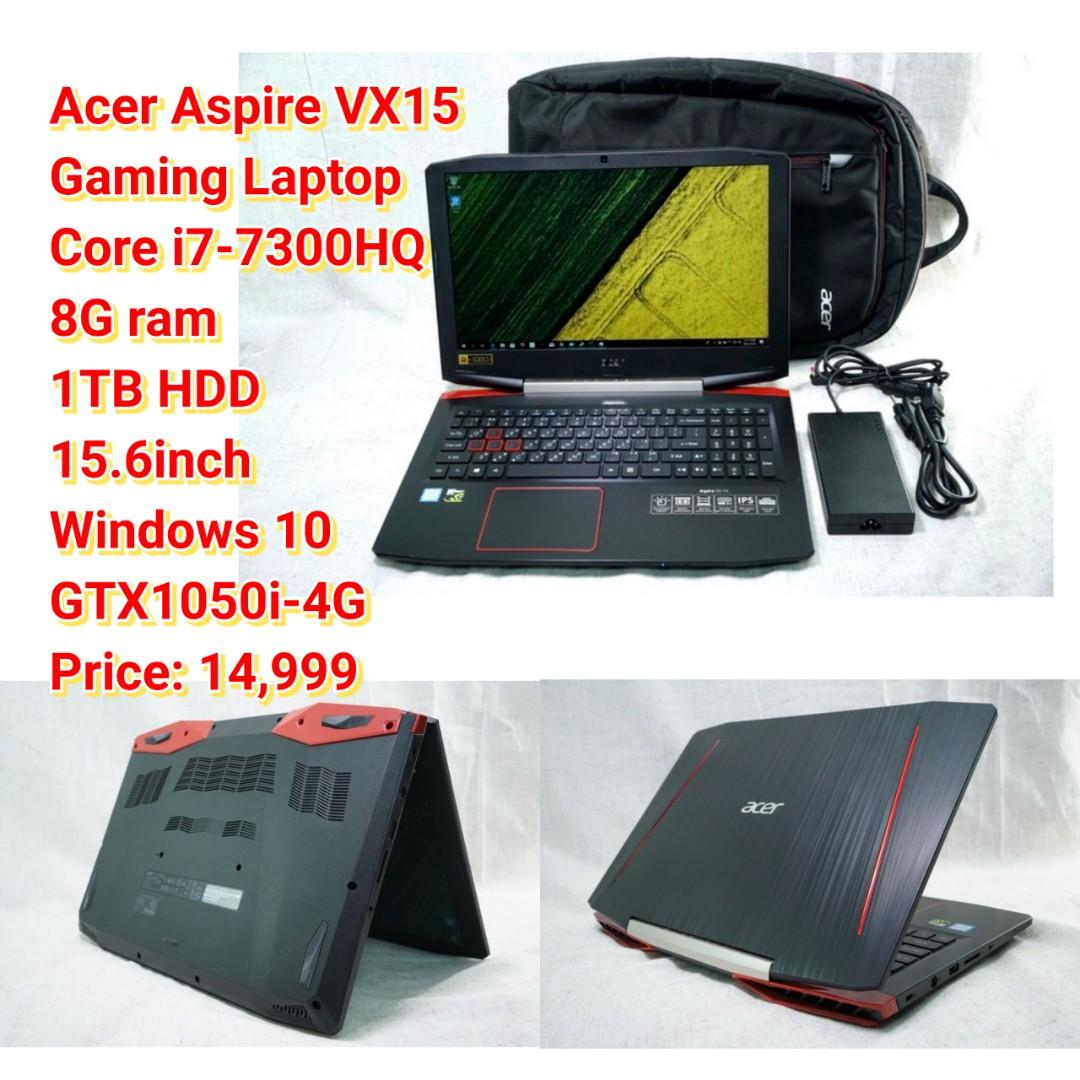 Acer Aspire VX15 Gaming Laptop Core i7