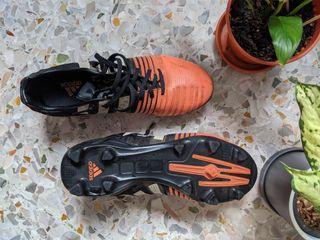 Adidas Nitrocharge 2.0 US 10 cleats football soccer boots orange black