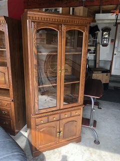 Antique Wooden Armoire Chambre China Cabinet