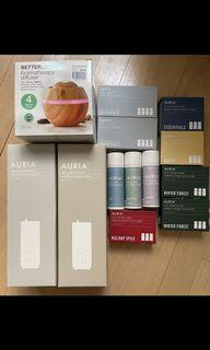 Auria Diffuser and Essential Oil set