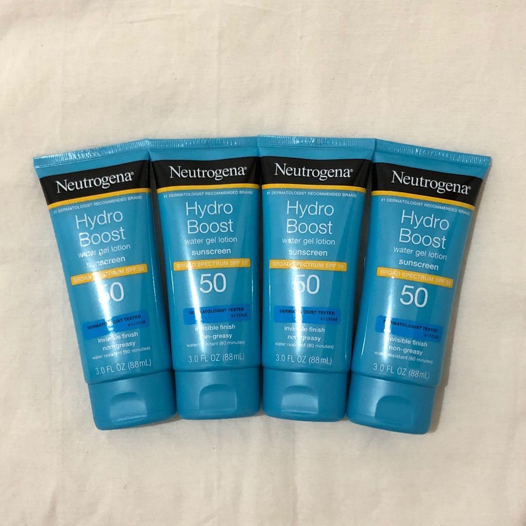 [BARU] Neutrogena Hydro Boost Water Gel Lotion Sunscreen