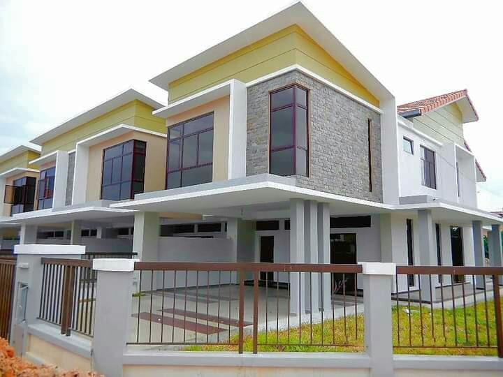 Below Market Price 60 % 🎊 Freehold individual title RumahBI double storey house Starting RM 298k
