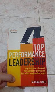 "Buku Top Performance Leadership ""Graham Jones"""
