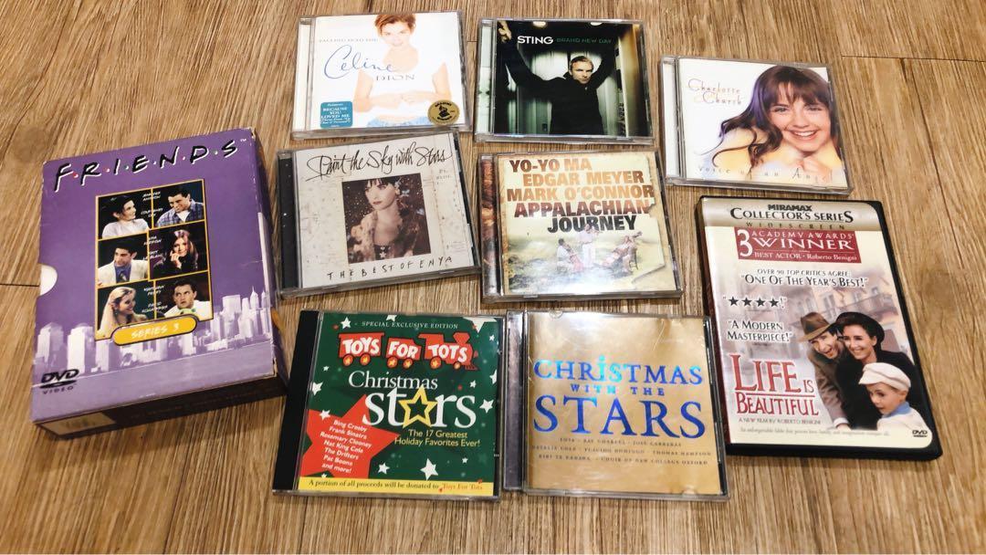 免費二手CD/DVD #FREE