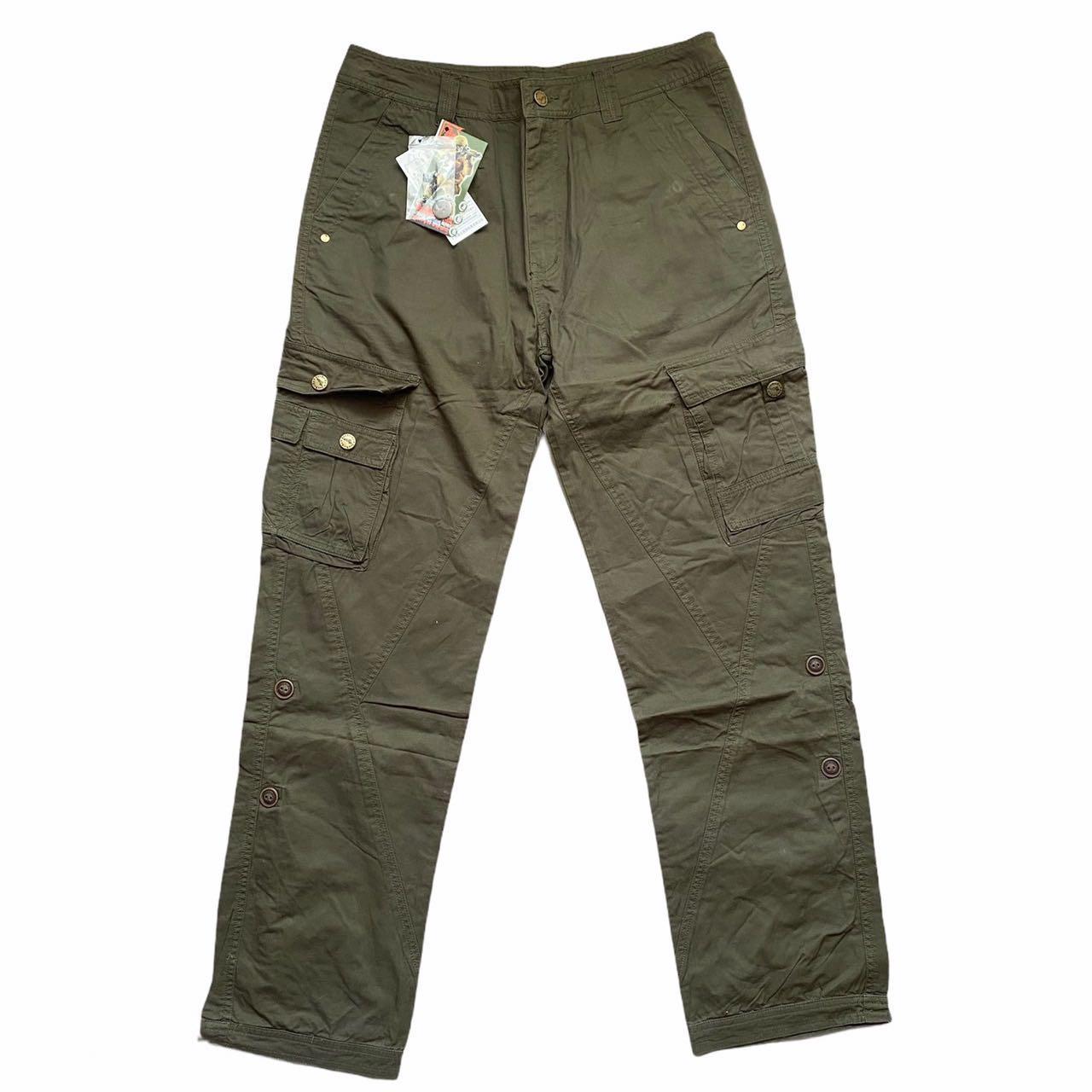 Convertible Military Cargo Pants