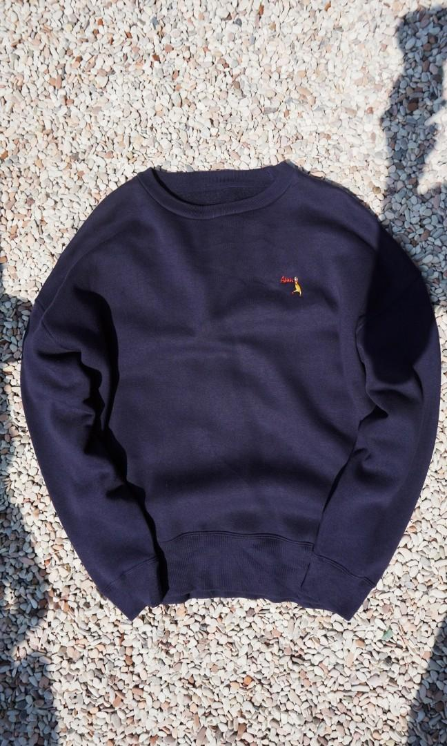 Crewneck nails navy import