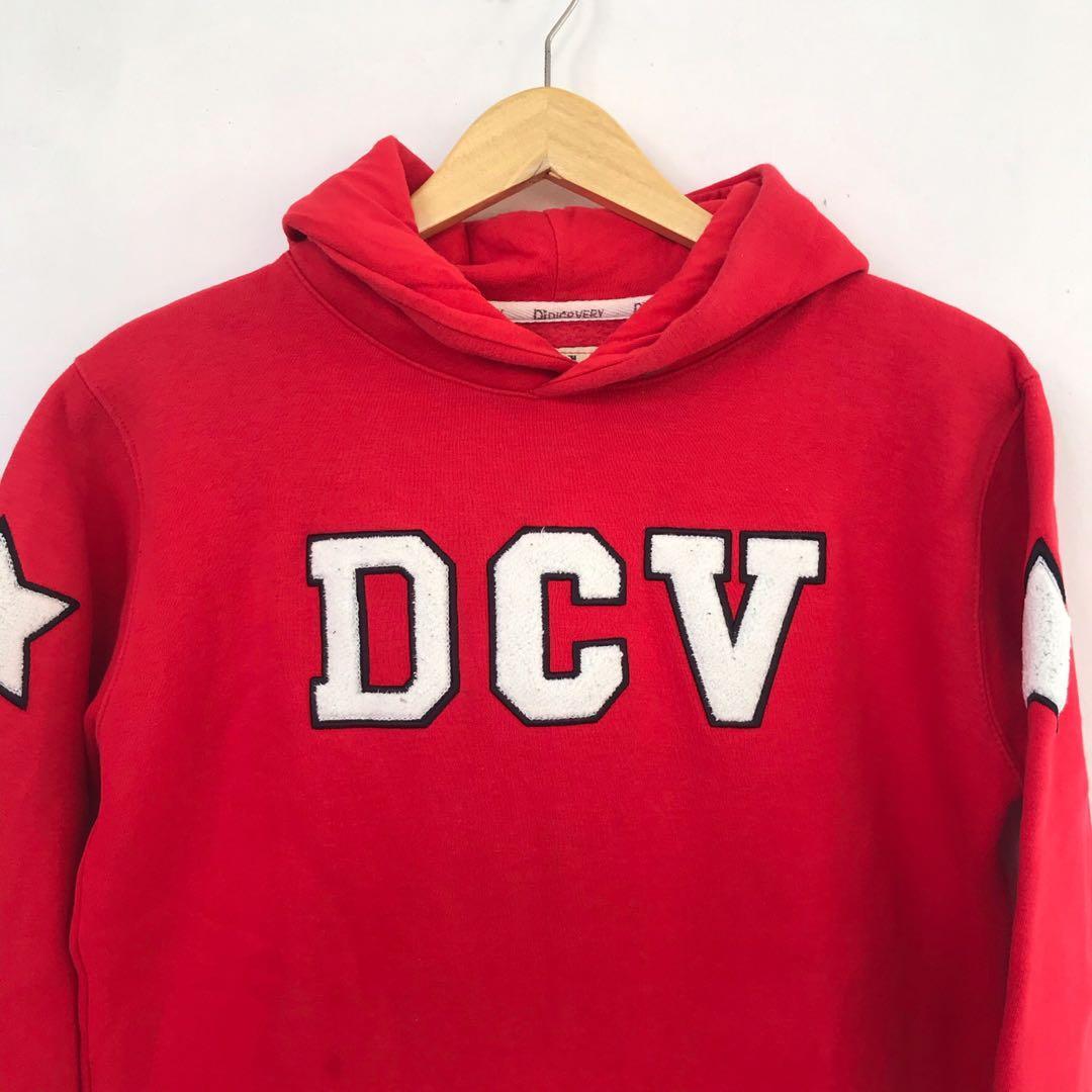 DCV Red Hoodie Thrift #DiskonLebaran