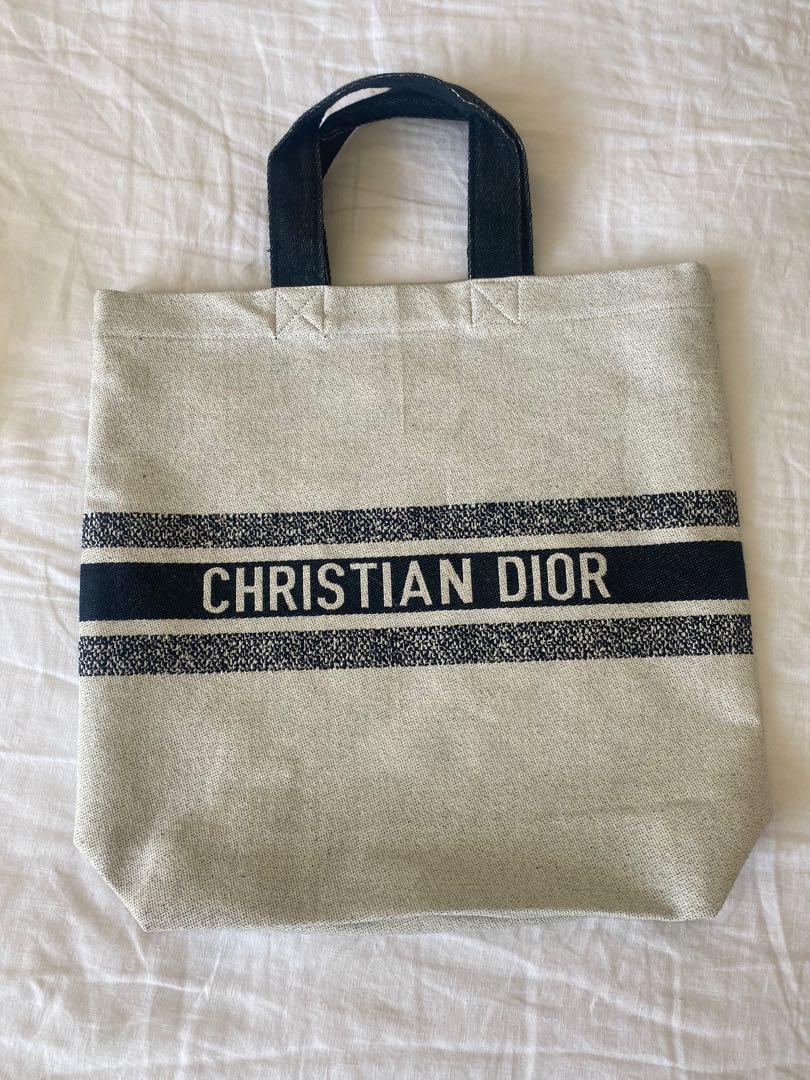 Dior - Canvas Tote Bag