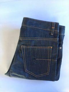 Dior Homme Jeans Denim Indigo Italy Japan non Selvedge Selvage Second Preloved Bekas Thrift