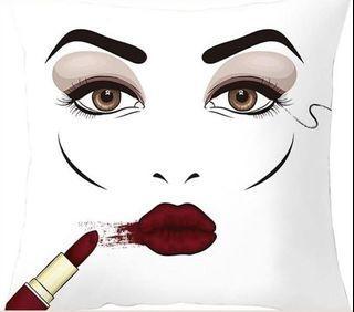 Eyelash Beauty Cushion Cover
