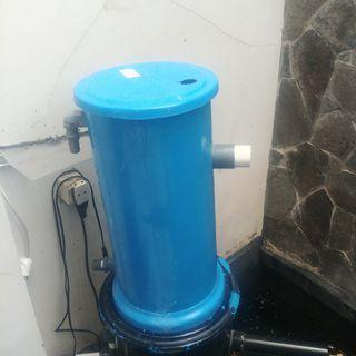 Filter kolam dia 25cm high 50cm