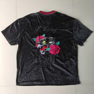 Flying Ninty FNTY Velvet Shirt