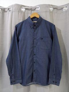 FRED PERRY x JOURNAL STANDARD BUTTON-DOWN L/S