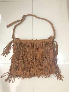 Fringe Bag (Brown)